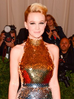 Carey Mulligan in Prada at the Met Ball 2012