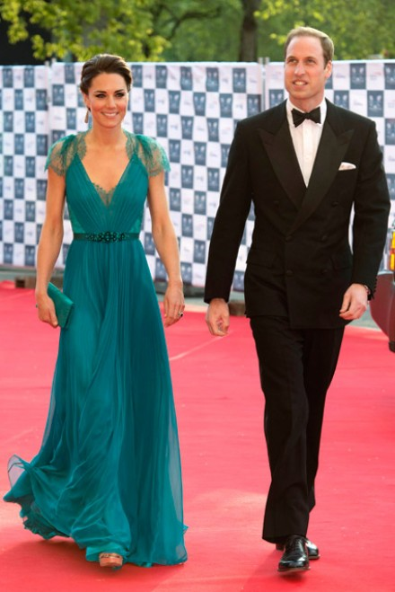 Kate Middleton & Prince William at the Our Greatest Team Rises Olympic Gala