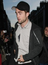 Robert Pattinson at his 26th birthday party at Claridges in London