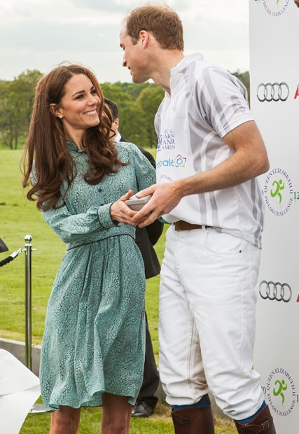 Kate Middleton and Prince William at the Audi Polo Challenge