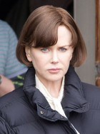 Nicole Kidman on the set of The Railway Man