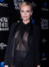 Charlize Theron - Snow White and The Huntsman after party - Marie Claire - Marie Claire UK