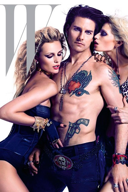 Tom Cruise on W Magazine - Tom Cruise Rock of Ages - Marie Claire - Marie Claire UK