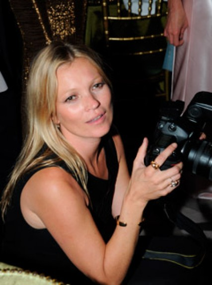 Kate Moss at a Marie Curie Fund Raising Dinner