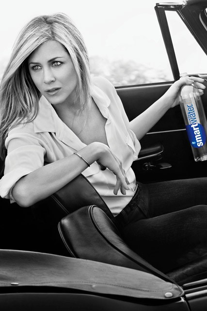 Jennifer Aniston - Jennifer Aniston Glaceau smartwater adverts - Marie Claire - Marie Claire UK