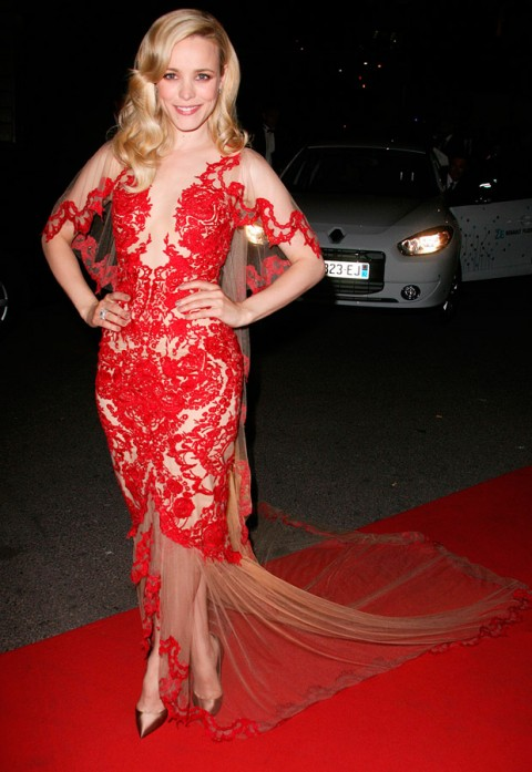 Rachel McAdams - Cannes Film Festival 2011 - Red Carpet Photos - Marchesa - Marie Claire - Marie Claire UK