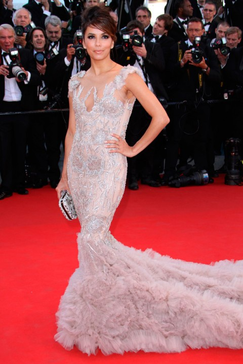 Eva Longoria at the Cannes Film Festival 2012