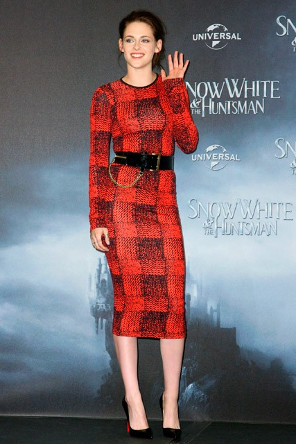Kristen Stewart - Snow White and the Huntsman premiere - Marie Claire - Marie Claire UK