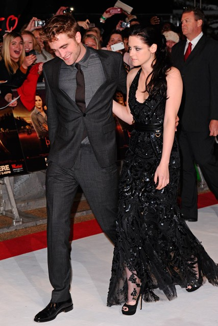 Robert Pattinson and Kristen Stewart - Twilight Breaking Dawn premiere - Marie Claire - Marie Claire UK