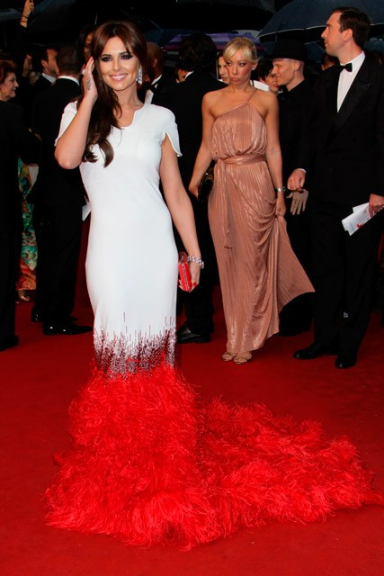 Cheryl Cole - Cheryl Cole at Cannes Film Festival - Cannes Film Festival 2012 - Stephane Rolland - Cheryl Cole dress - Cannes Red Carpet Photos - Marie Claire - Marie Claire UK