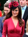 Pippa Middleton wears Kate Middleton's Issa engagement dress to Scottish wedding
