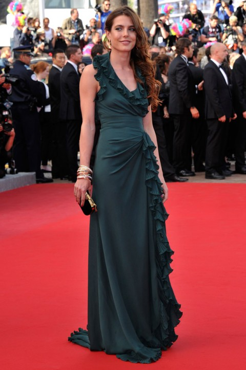 Charlotte Casiraghi at the Cannes Film Festival 2012