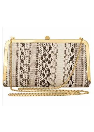 Reiss Carlina metal frame clutch bag, £120 - What to wear to the races