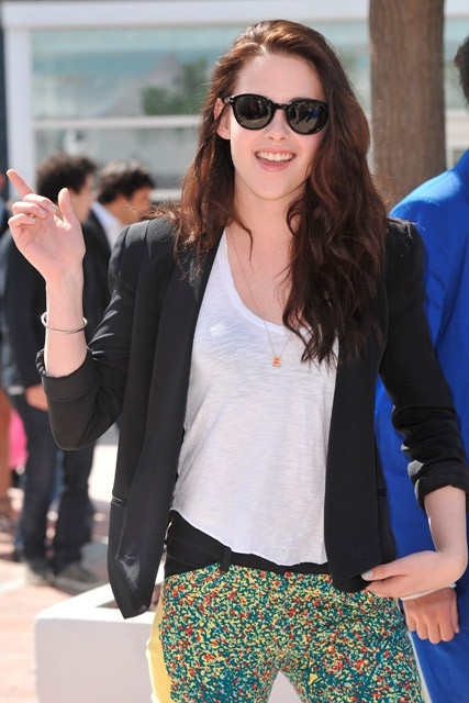Kristen Stewart arrives in Cannes