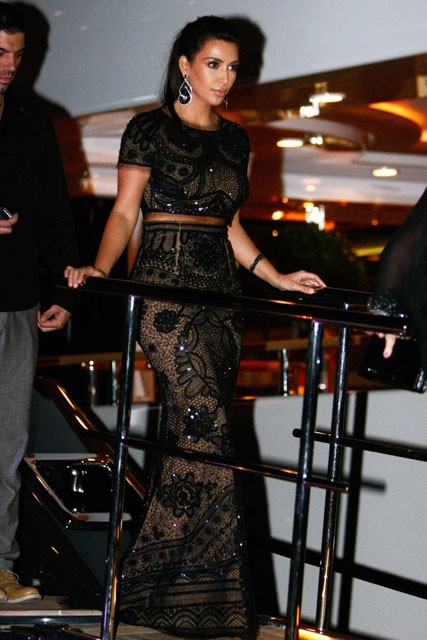 Kim Kardashian in Cannes