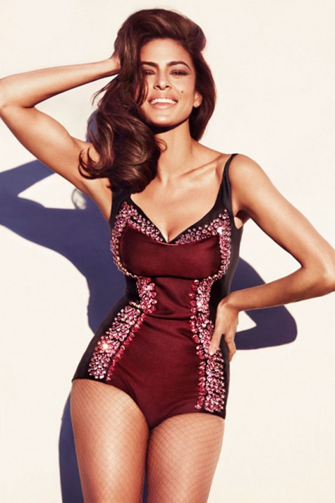 Eva Mendes for Marie Claire July 2012