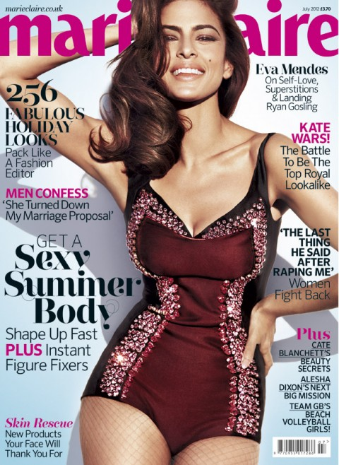 Eva Mendes for Marie Claire