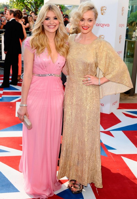 Holly Willoughby and Fearne Cotton - TV BAFTA Awards - BAFTA Awards Red Carpet Photos - Marie Claire - Marie Claire UK