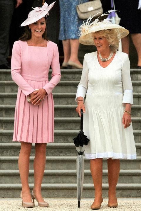 Kate Middleton attends Buckingham Palace Garden Party