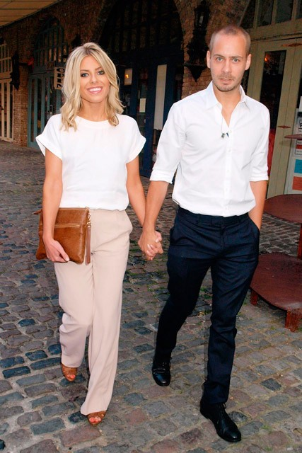 Mollie King and mystery man - Marie Claire - Marie Claire UK