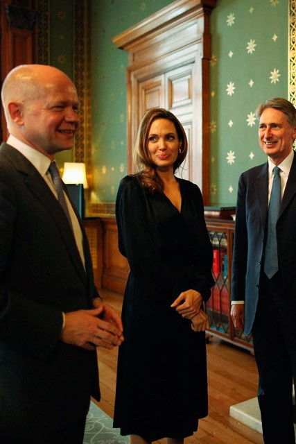 Angelina Jolie at the Foreign Commonwealth Office - Marie Claire - Marie Claire UK