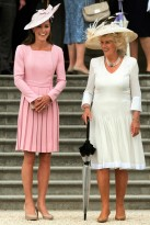 Duchess of Cambridge & Duchess of Cornwall attend Buckingham Palace Garden Party