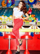 Kelly Brook for New Look Collection