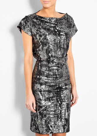 Vivienne Westwood Anglomania metallic draped dress, &pound;199