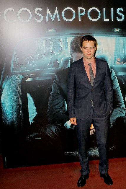 Robert Pattinson at Cosmopolis premiere Paris - Marie Claire - Marie Claire UK
