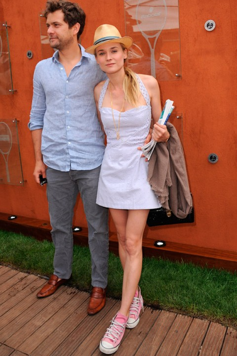 Diane Kruger at the French Open 2012