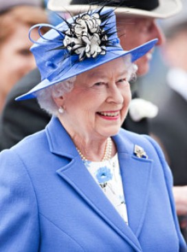 The Queen Elizabeth attends Epsom Races 2012