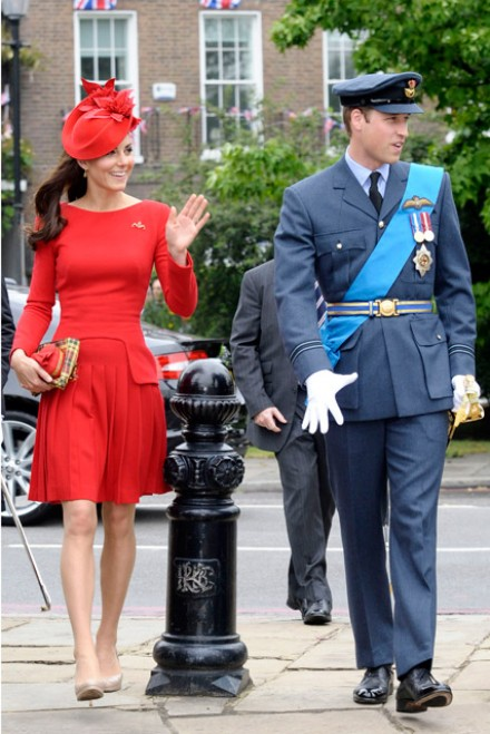 Kate Middleton wears Alexander McQueen to Diamond Jubilee Pageant