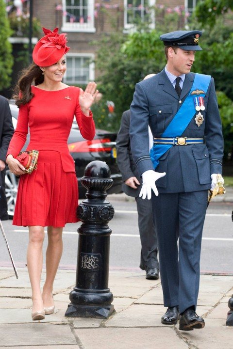 Prince William & Kate Middleton at The Queen's Diamond Jubilee Celebrations