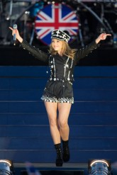 Kylie Minogue at the Queen's Diamond Jubilee concert