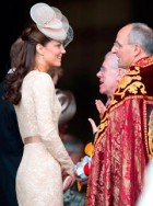 Kate Middleton at the Queen's Diamond Jubilee Service of Thanksgiving