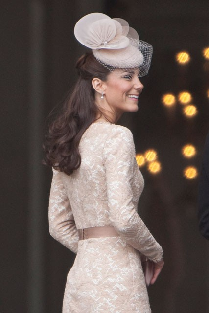 Kate Middleton at the Diamond Jubilee Thanksgiving Service