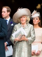 Kate Middleton, Camilla and Prince William at the Diamond Jubilee Thanksgiving Service