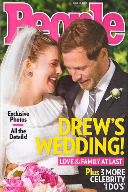 Drew Barrymore & Will Kopelman's wedding