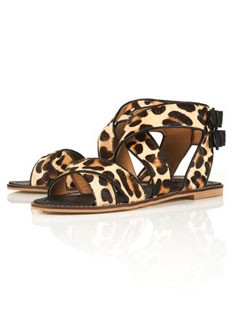 Tophop leopard print sandals Buy of the Day