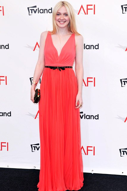 Dakota Fanning at the AFI Life Achievement Awards