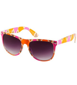 Topshop Ikat print sunglasses, &pound;16 - 50 Summer Style Buys Under &pound;50 - Marie Claire - Marie Claire UK
