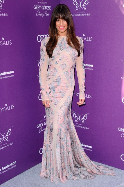 Lea Michele at the 11th Annual Chrysalis Butterfly Ball in Los Angeles
