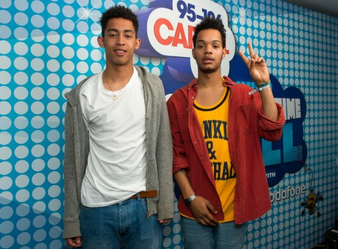 Rizzle Kicks at the Capital FM Summertime Ball 2012 in London