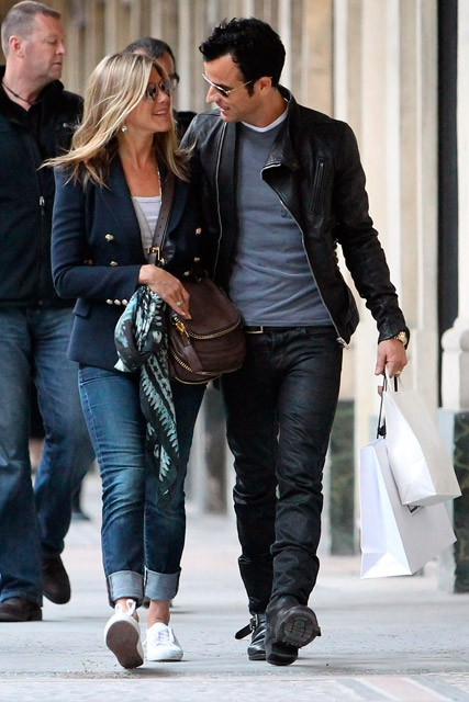 Jennifer Aniston and Justin Theroux in Paris - Marie Claire - Marie Claire UK