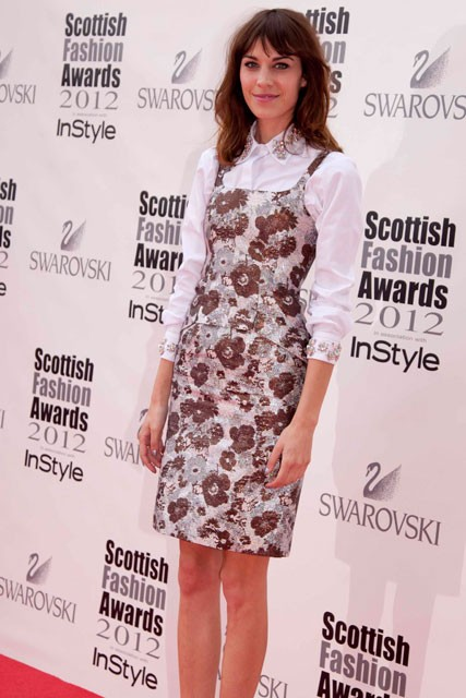Alexa Chung Scottish Fashion Awards