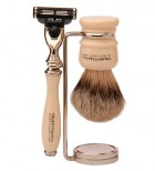 Truefitt & Hill chrome brush stand, �41 | Father's Day Gift Guide | Marie Claire | Marie Claire UK