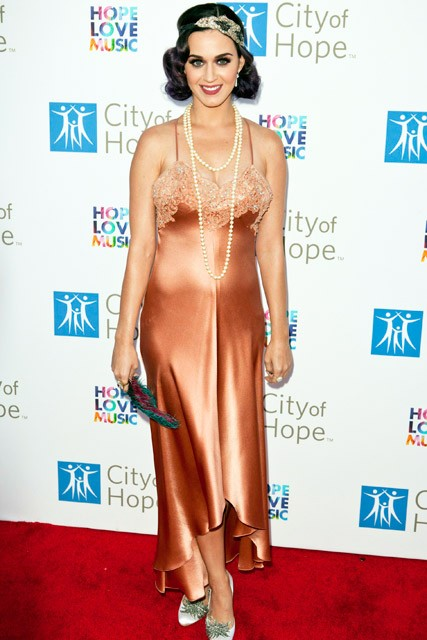 Katy Perry at the City Of Hope 2012 Spirit of Life Awards in Los Angeles