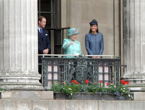 Prince William, the Queen and Kate Middleton - Diamond Jubilee - Marie Claire - Marie Claire UK