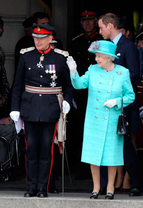 The Queen - Diamond Jubilee Visit - Marie Claire - Marie Claire UK