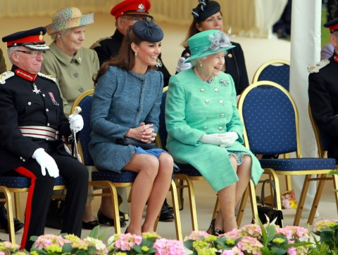 Duchess of Cambridge and the Queen - Diamond Jubilee Tour - Marie Claire - Marie Claire UK